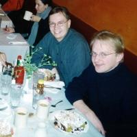Breakfast in Chicago: David Pituch, Robert Kritz, O-P Tuomisalo, Risto-Matti Marin